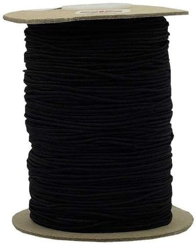 2mm Round Shock Cord Elastic - Perfect for Masks or Sewing, Craft use